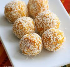 Mango Coconut Ladoo Recipe