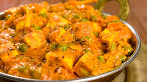 Method of preparation of Matar Paneer